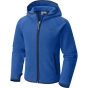 Product image of Columbia Girls Fast Trek Hooded Fleece Super Blue / Carbon
