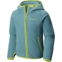 Product image of Columbia Girls Fast Trek Hooded Fleece Teal / Voltage