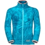 Product image of Jack Wolfskin Girls Jungle Fleece Lake Blue All Over