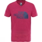 Product image of The North Face Girls Reaxion T-Shirt Ages 14+ Petticoat Pink