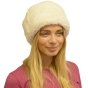 Women's Fleece Top Cossack Hat