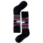 Product image of SmartWool Kids Wintersport Stripe Sock Black/White