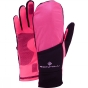 Product image of Ronhill Convertible Glove Black/Fluo Pink