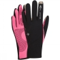 Product image of Ronhill Womens Sirocco Glove Black/Fluo Pink
