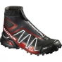 Salomon Men's Snowcross CS Black / Radiant Red / White