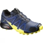 Salomon Men's Speedcross 4 GTX Slateblue / Blue Depth