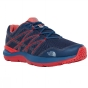 Product image of The North Face Mens Ultra Cardiac II Shoe Shady Blue/High Risk Red