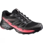 Salomon Womens Wings Pro Shoe Black / Dark Cloud