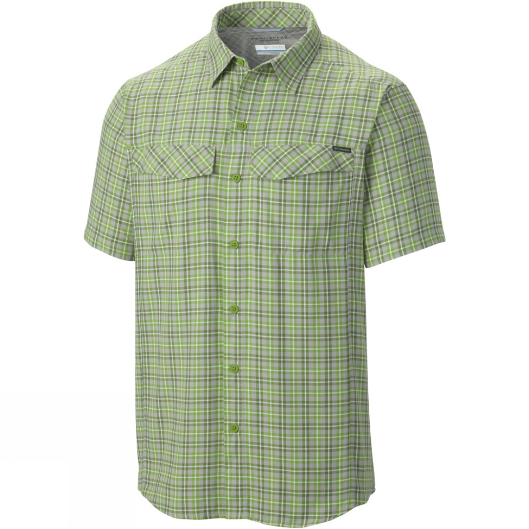 Columbia mens silver ridge multi plaid short sleeve shirt Short sleeve plaid shirts