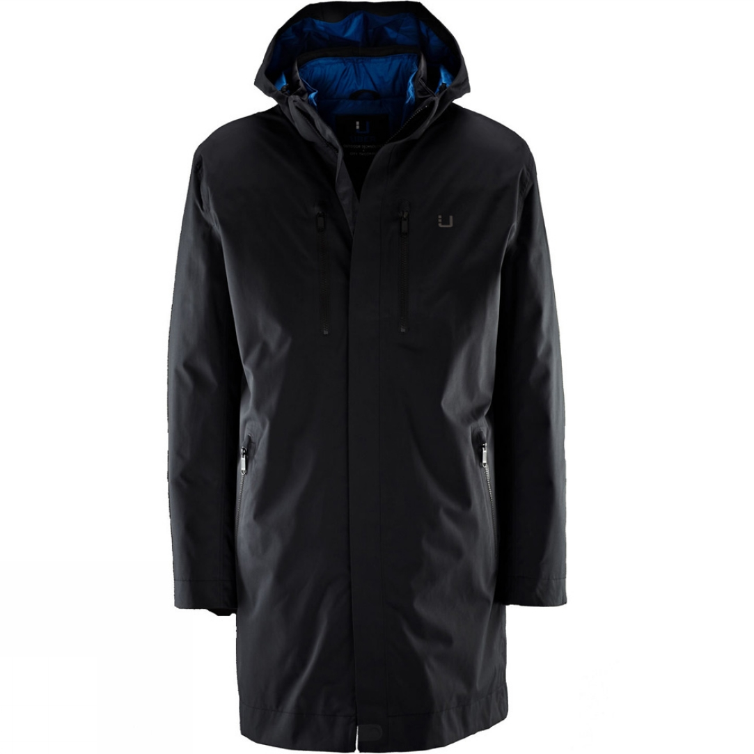 Snow and Rock Uber Men's Black Storm Coat