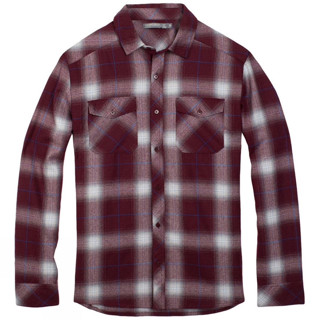 Mens Lodge Long Sleeve Flannel Shirt