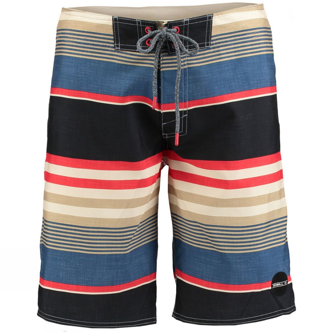 mens santa cruz stripe boardshort