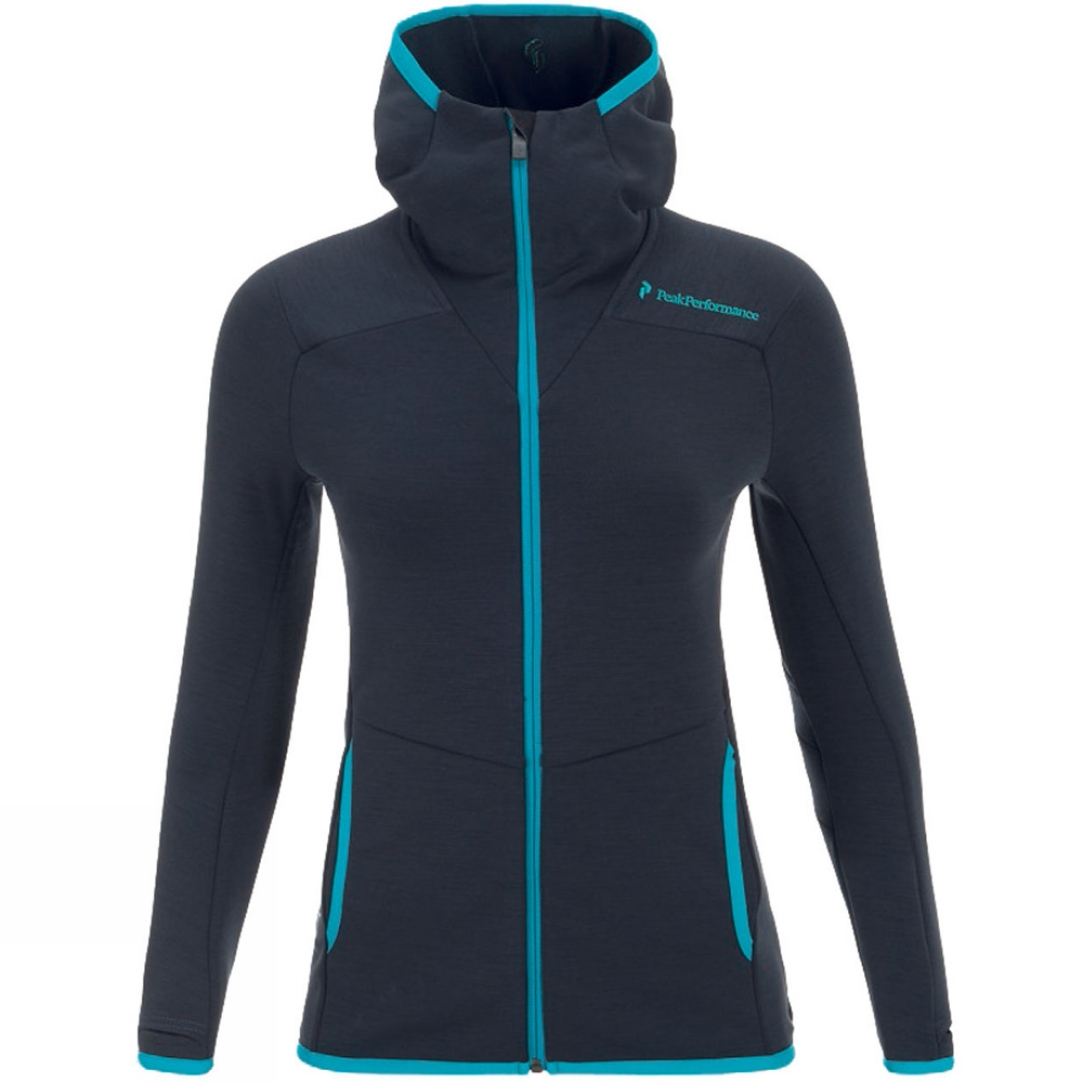 Trousers & Shorts Peak Performance Women's Heli Vertical Mid Hood Midlayer