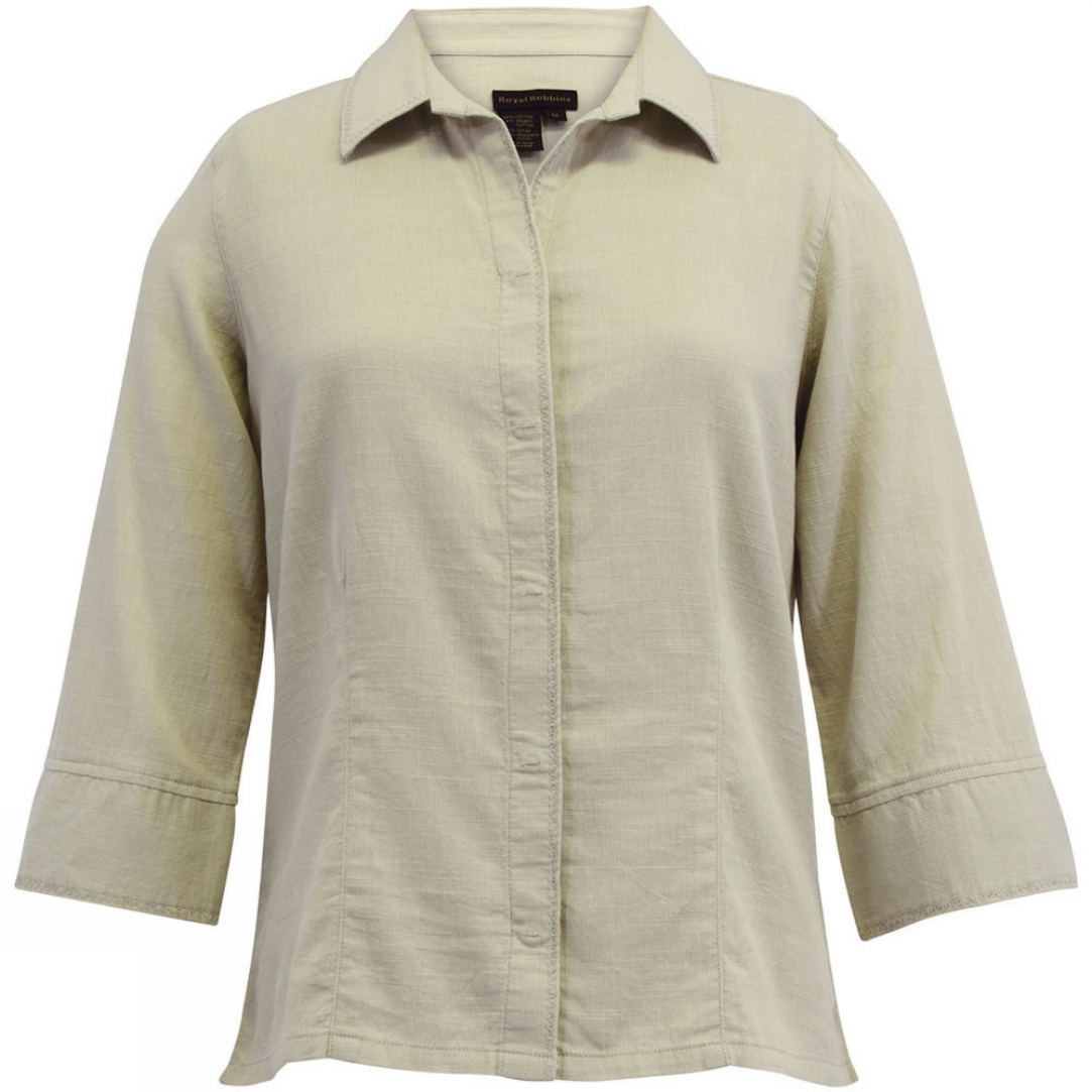 Royal robbins womens cool mesh 3 4 sleeve shirt bear for Royal robbins expedition shirt 3 4 sleeve women s