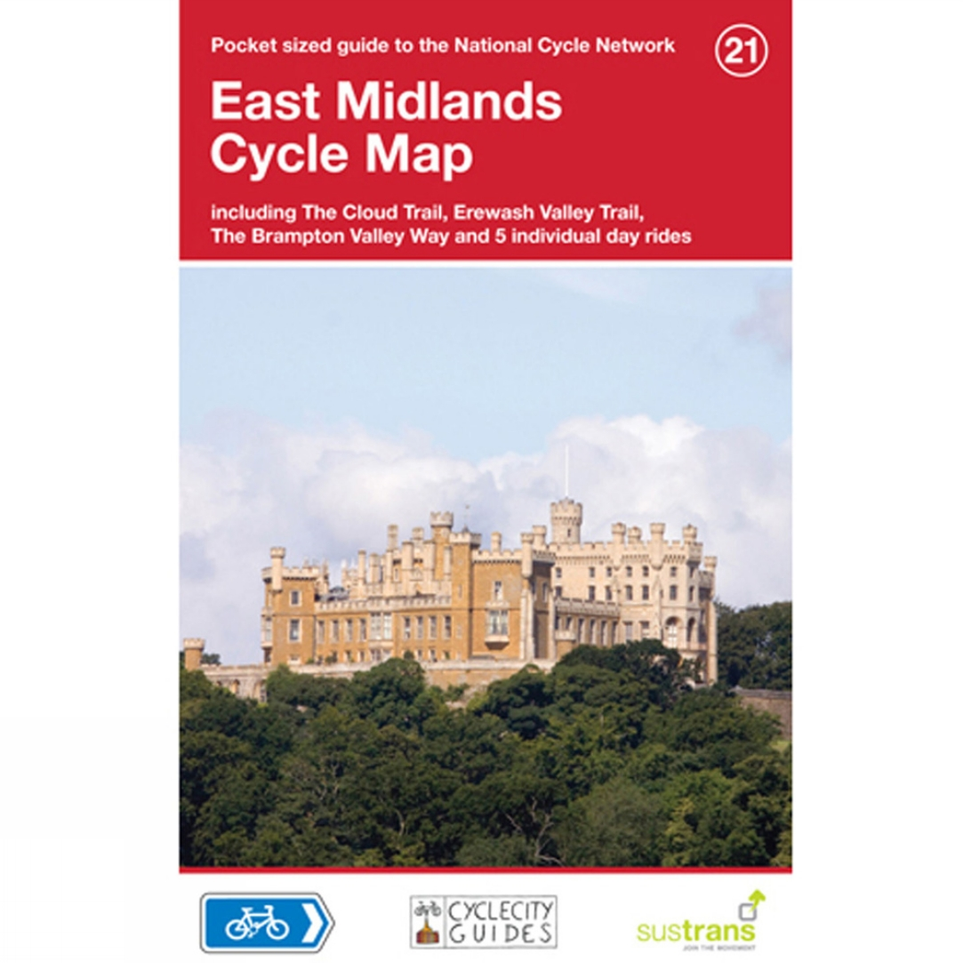 Four Point Mapping East Midlands Cycle Map