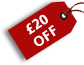 £ 20 OFF